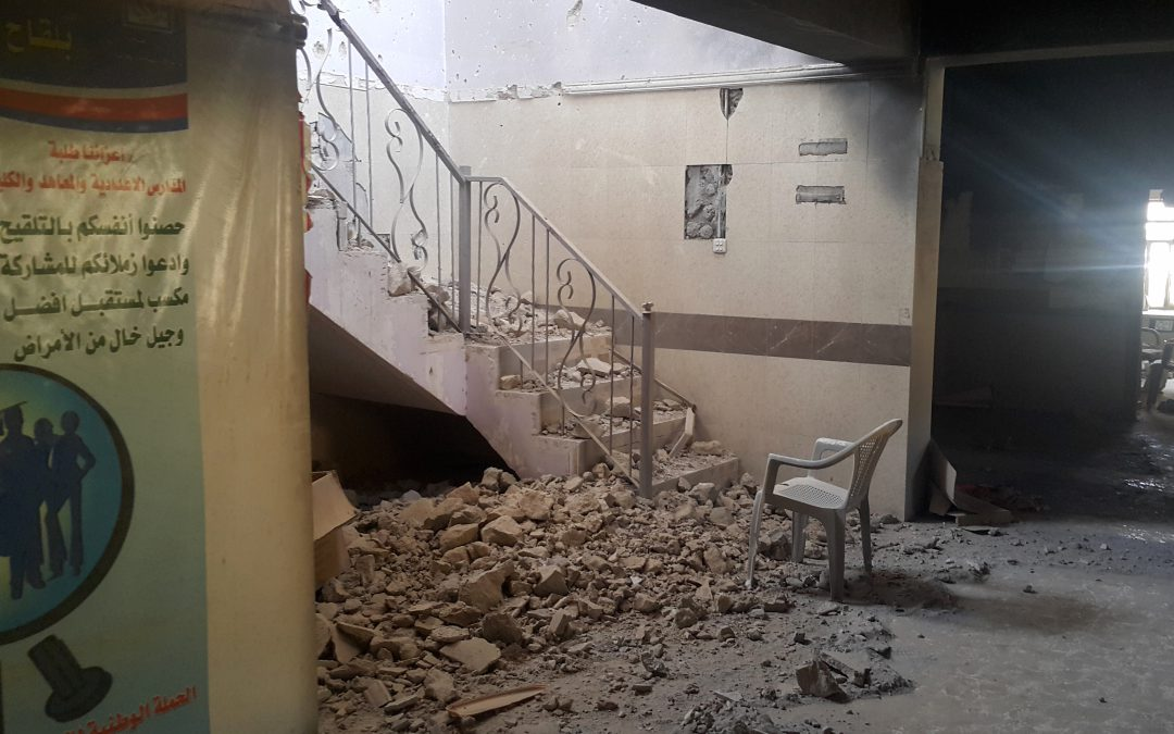 Ramadi healthcare system devastated by ISIS