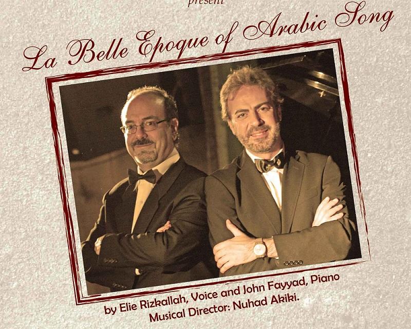 La Belle Époque of Arabic Song Concert in Lebanon