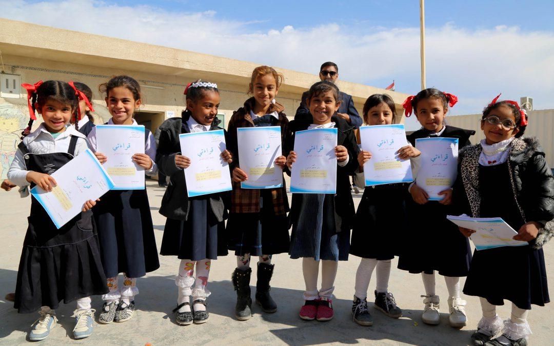 AMAR provides vital textbooks to school children in southern Iraq