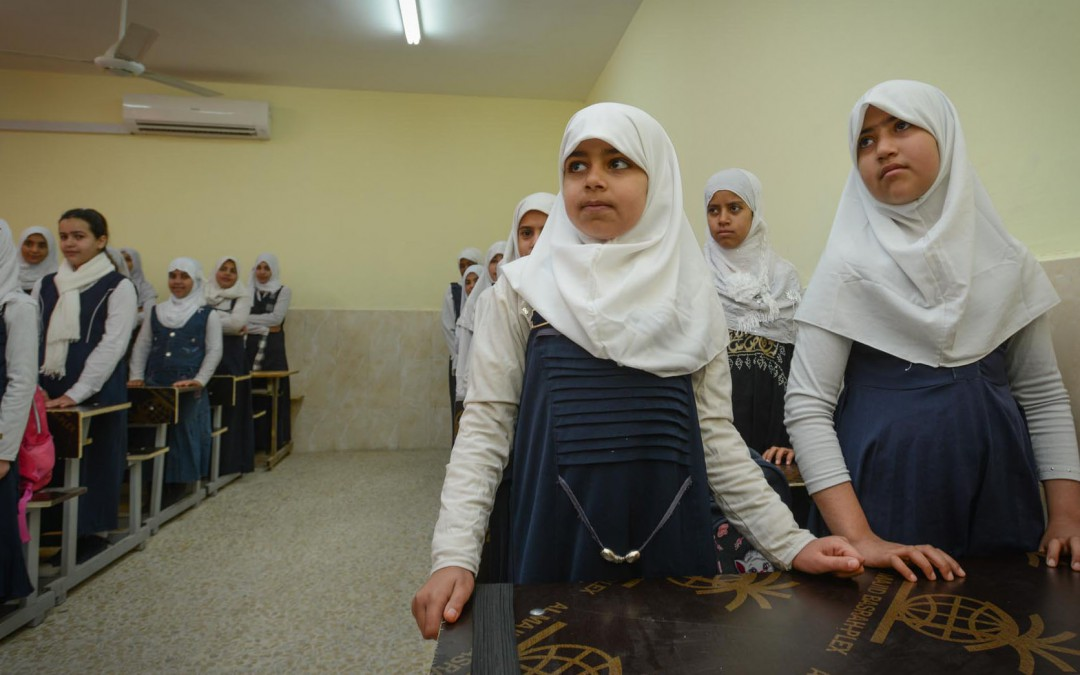 Bringing girls back into Iraq's classrooms
