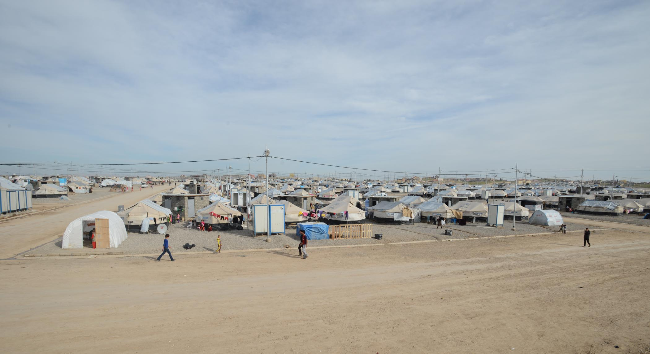 Khanke Camp Is Home To 18,500 Yazidis