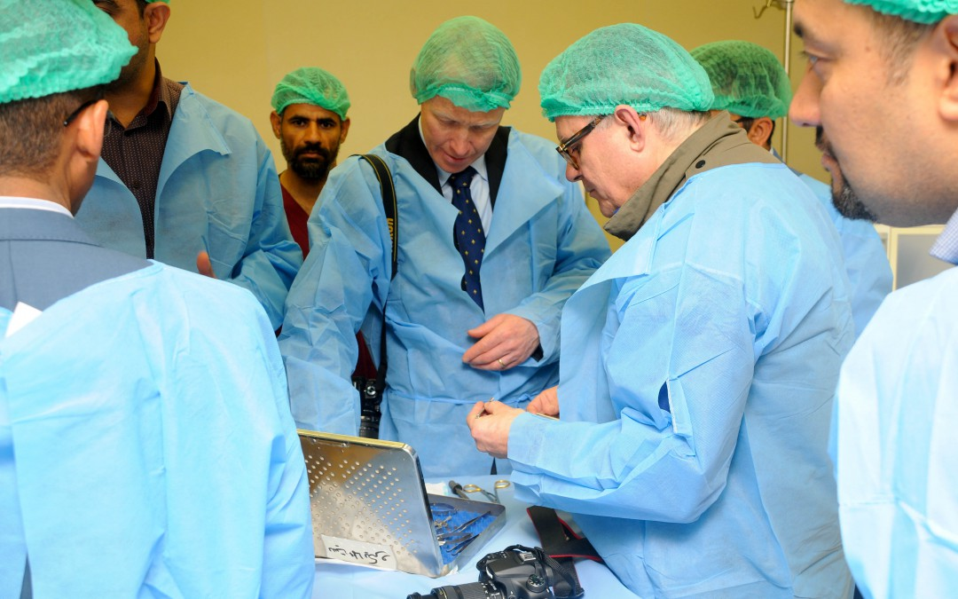 AMAR sends leading plastic surgeons on vital trip to Iraq
