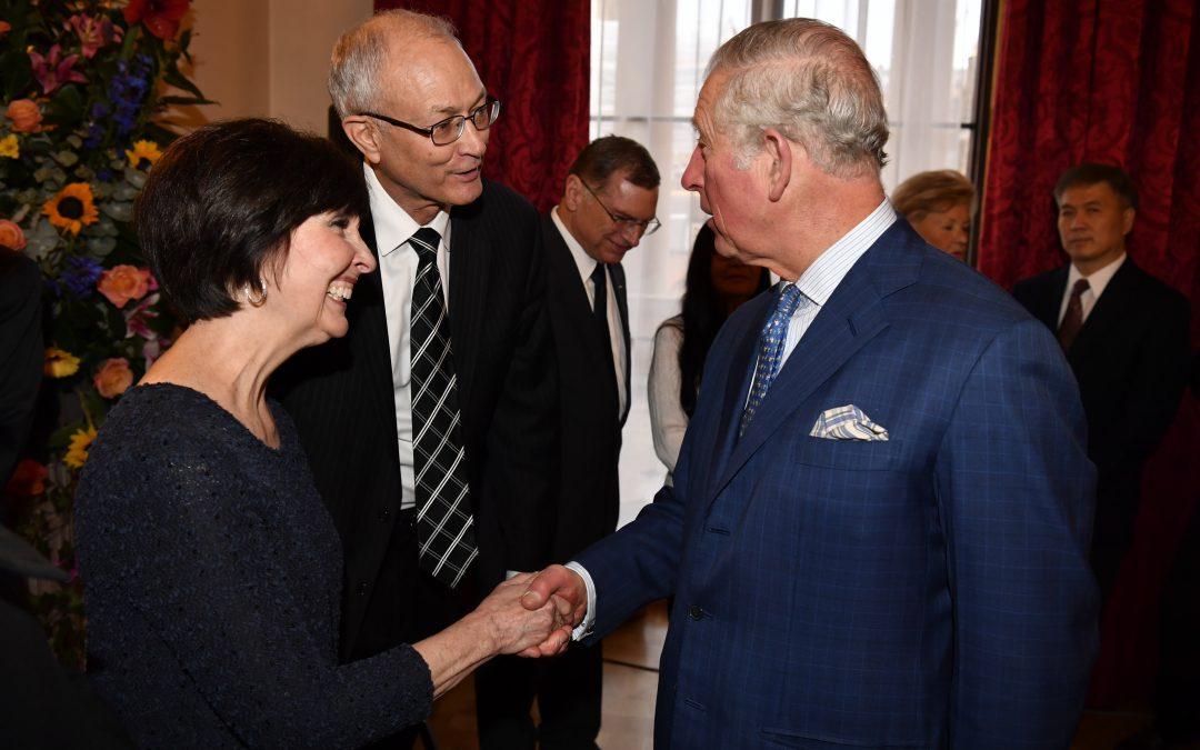 Prince Charles Honors AMAR