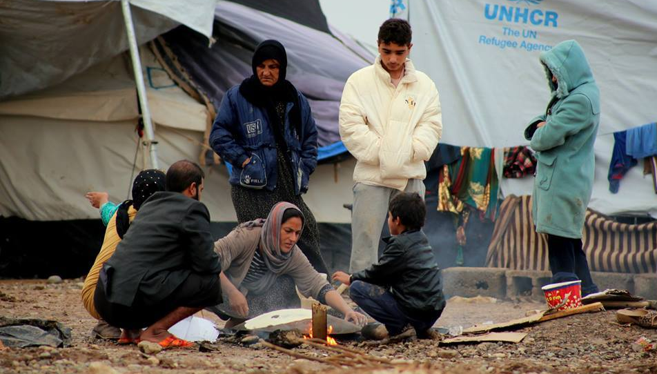 Winter Is Harsh In The Refugee Camps Of Northern Iraq