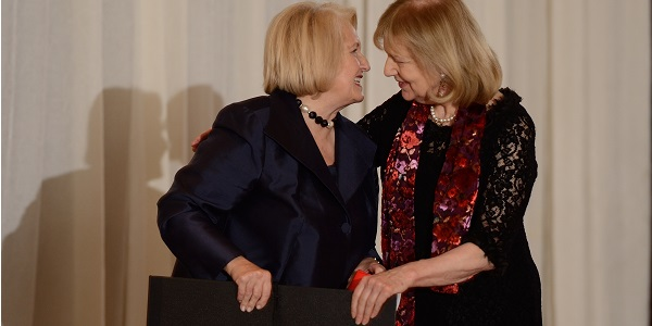 AMAR U.S. Honors Ambassador Melanne Verveer with 'Helping Humanity Flourish' Award at Second Annual Gala
