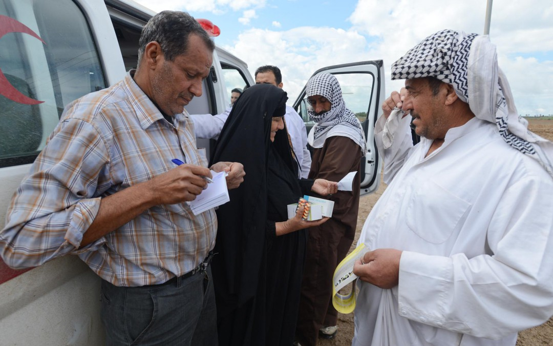 Working together to support Iraq's most vulnerable communities