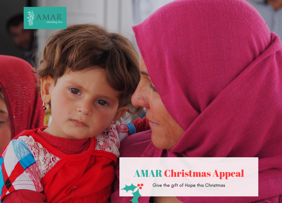 AMAR LAUNCHES CHRISTMAS APPEAL FOR IRAQ
