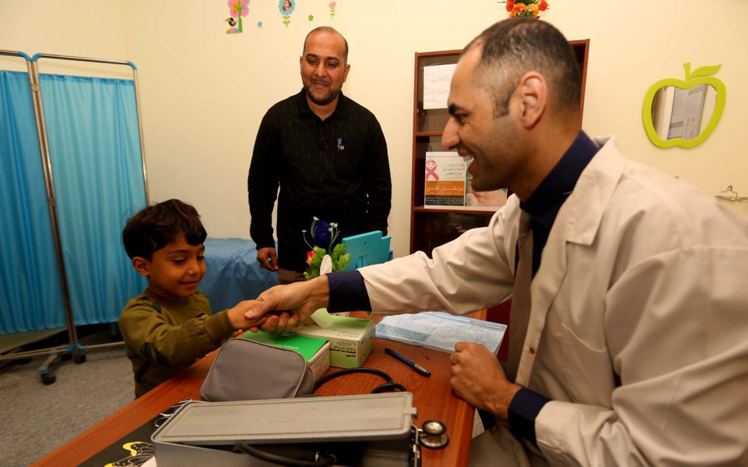AMAR'S MEDICAL WORK BOOSTED BY AWARD-WINNING DOCTOR'S RETURN TO HIS ROOTS